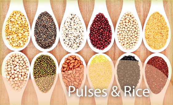 Pulses & Rice